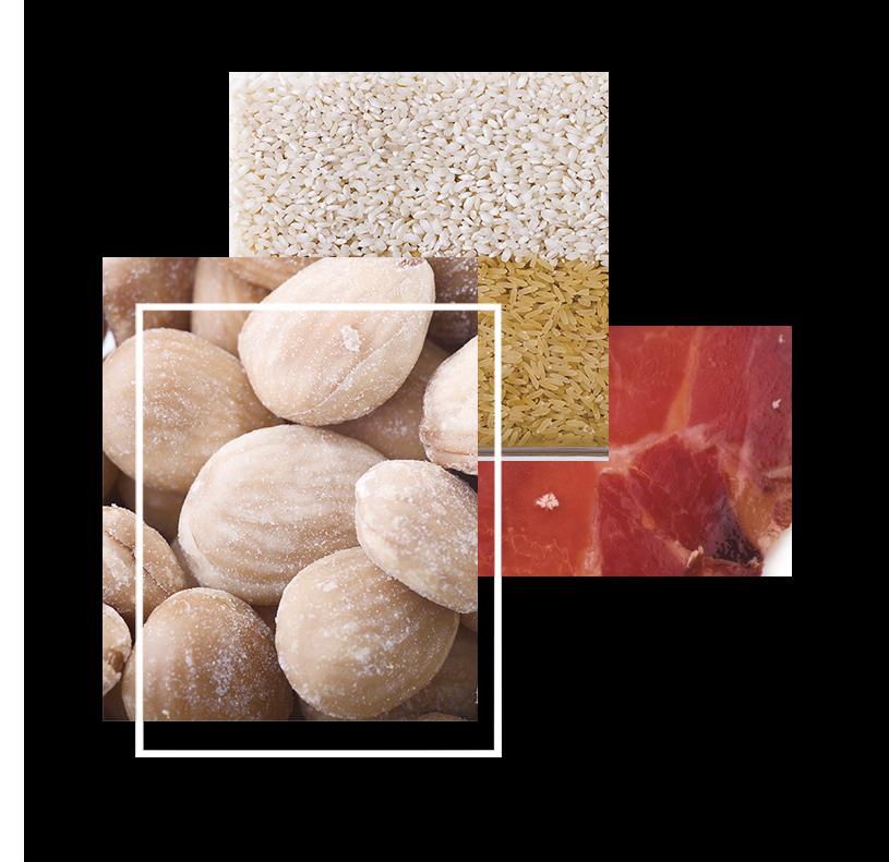 Composicion fotos alimentos organicos